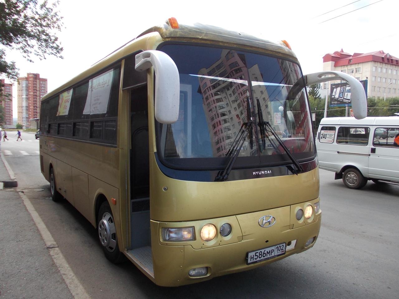 Аренда и заказ автобуса на 30 посадочных мест в Уфе