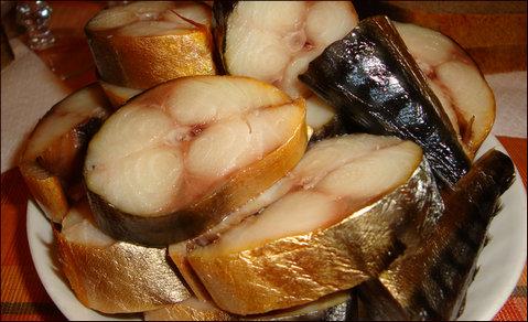 Рыба: горбуша, скумбрия