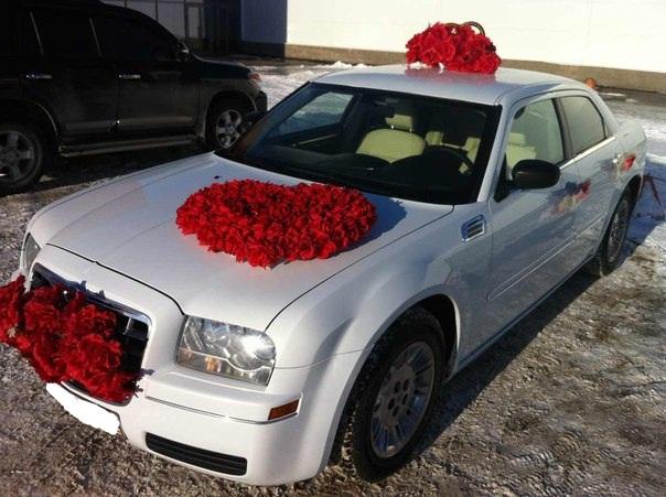 Крайслер 300С на свадьбу, авто на свадьбу