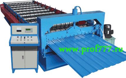 Оборудование (линия) для производства металлочерепицы «Монтеррей», «Монтеррей-Люкс» из Китая