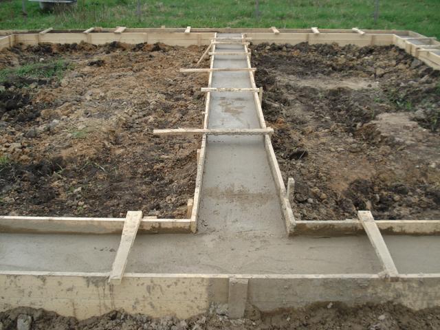 Зальём фундамент (работа+бетон)