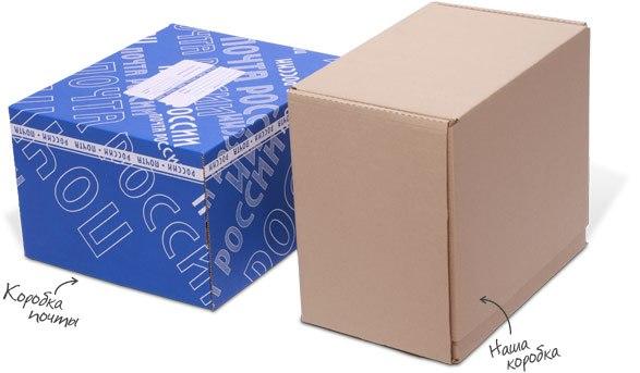 Почтовые картонные коробки