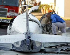 В  США в штате Кентукки упал самолёт - семилетняя девочка чудом уцелела.