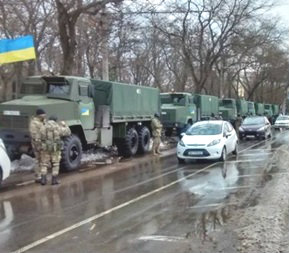 Одессу будет патрулировать Национальная гвардия Украины
