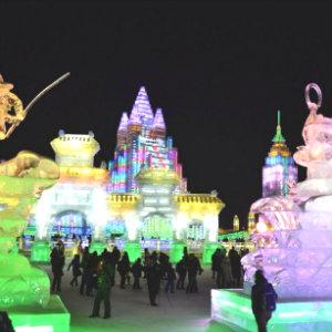 В Харбине стартовал международный фестиваль ледяных скульптур.