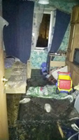 Пожарные спасли семью с двухлетним ребенком в Уфе