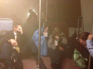 Трагическое событие в Вашингтонском метро.