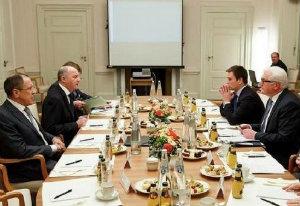 """Россия опровергла заявление В.Штайнмайера о том, что """"нормандская встреча"""" инициирована Москвой и Киевом."""