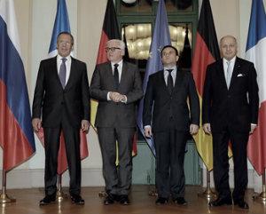 """""""Нормандская четверка"""" - достигнуты важные договоренности."""