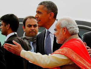 Барак Обама отправился в Дели.
