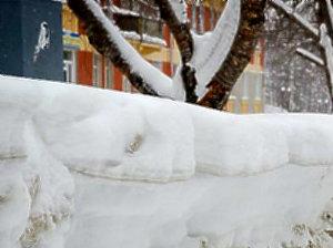 Америку укрывает снегом.
