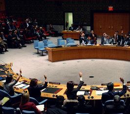 Совбез ООН единодушно принял предоставленный Россией проект резолюции по Украине