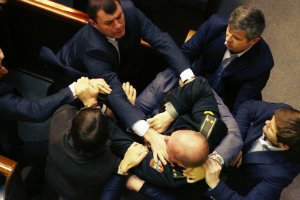 Верховная Рада Украины снова радует электорат