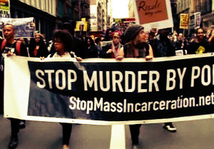 Протест по-чёрному