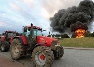 Фермерское недовольство нарастает