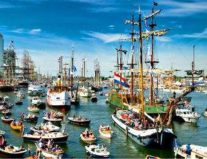 Белые паруса Амстердама