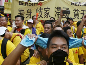 Скандал вокруг премьера Малайзии