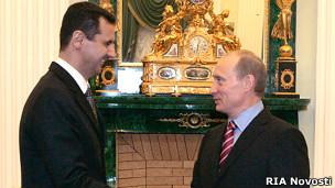 В Кремле состоялась встреча Президентов Сирии и России
