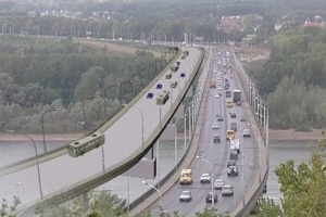 Рустэм Хамитов проверил ход строительства нового затонского моста