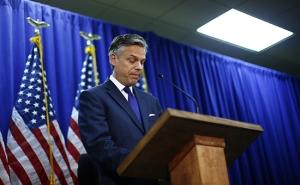 CNN:  имя предполагаемого нового посла США в России  Джон Хантсмэн