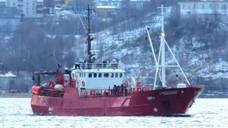 В Баренцовом море затонуло российской рыболовецкое судно