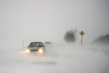 Из за непогоды ограничено движение на некоторых автодорогах на востоке республики