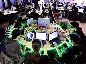 В Гамбурге проходит хакерский конгресс.