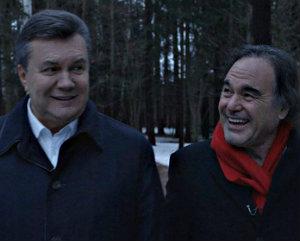 Оливер Стоун снимает фильм о Викторе Януковиче