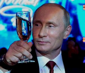 В.Путин поздравил россиян