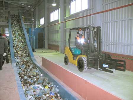 В Уфе появиться предприятие по утилизации твердых бытовых отходов