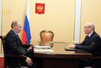 Путин доволен темпами роста экономики Башкортостана